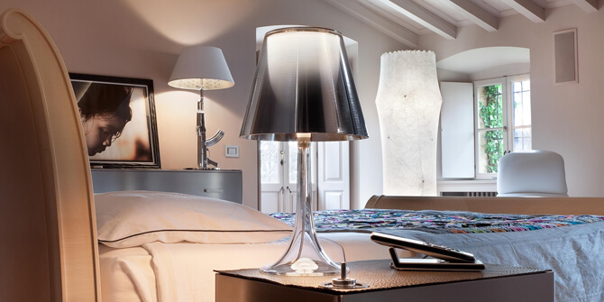 Lámparas Miss k y Gun de Philippe Starck