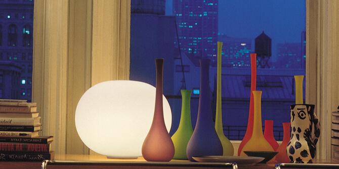 Colección de lámparas Glo-Ball de Flos
