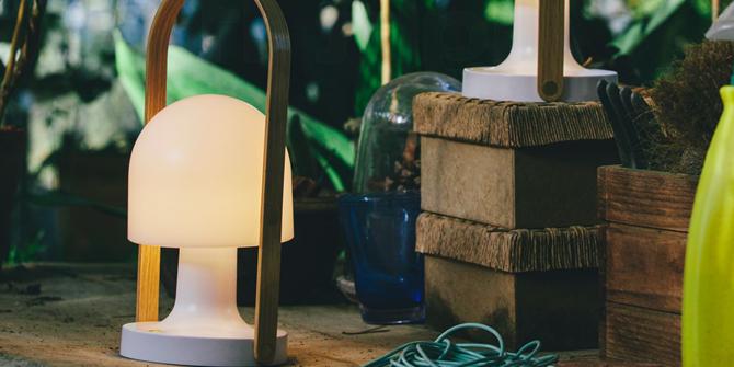 Diseño lámpara FollowMe por Inma Bermúdez