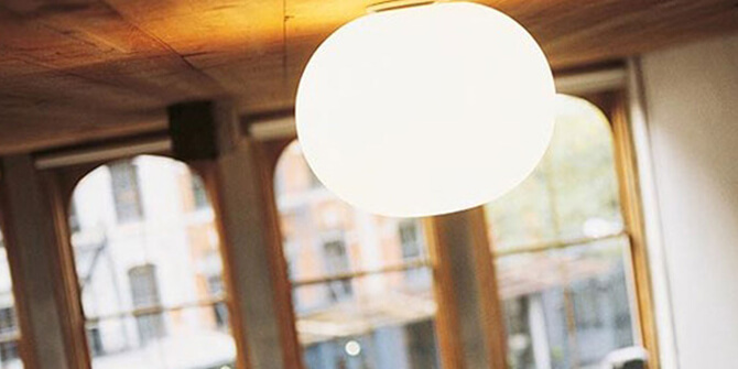 Lámpara Glo-Ball características