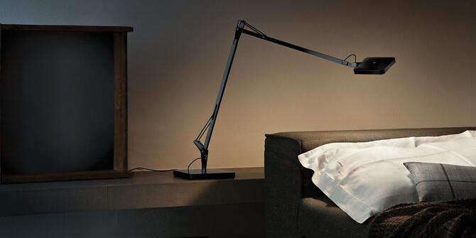 Lámpara de lectura Kelvin de Flos