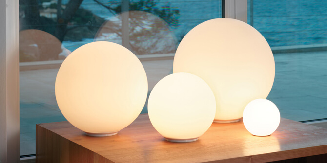 Lámparas Artemide fabricante italiano iluminación