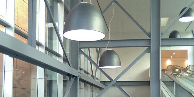 Lámparas de iluminación desde 1960