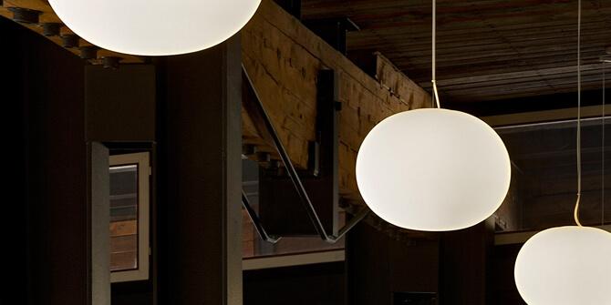 Versiones lámpara Glo-Ball de Flos