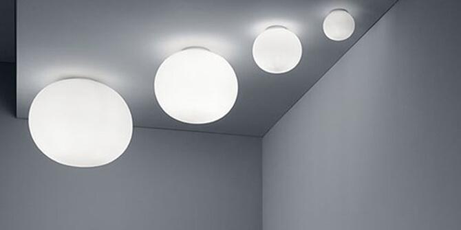 Lámpara de techo Glo-Ball de Flos