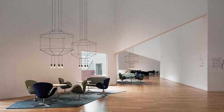 Wireflow - Reinventando las lámparas clásicas chandelier