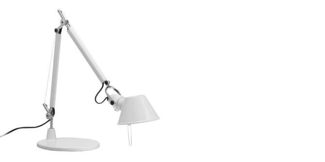 Lámpara de mesa Tolomeo halógena
