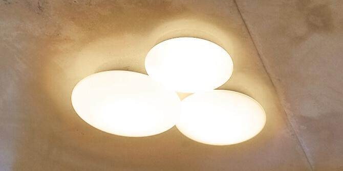 Lámpara Puck, la nueva lámpara de pared y techo