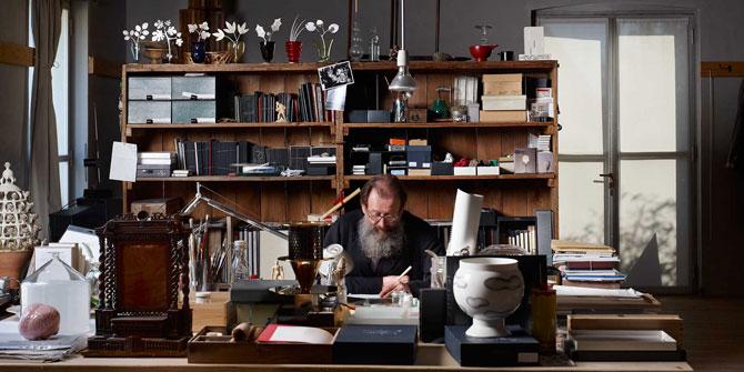 Michele de Lucchi, creador de la lámpara Tolomeo