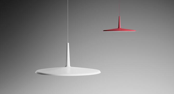 Tecnología LED en lámparas Skan de Vibia