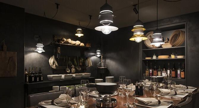 Ejemplo de lámparas fabricadas por Marset Barcelona.
