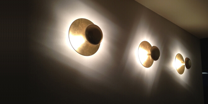 Iluminación indirecta Funnel de Vibia