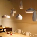 Pleat Box – Lámparas de cerámica, diseño artesanal