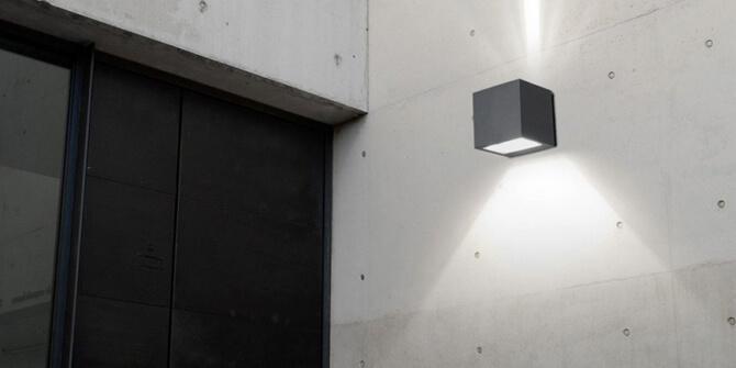 Protección IP de lámpara de exterior Nemesis