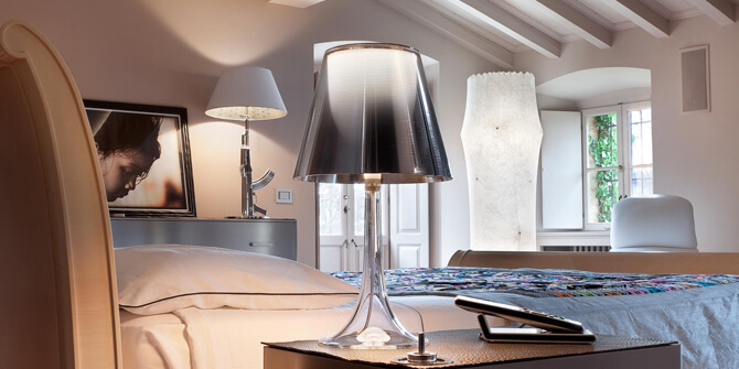 Ejemplos de lámparas Flos