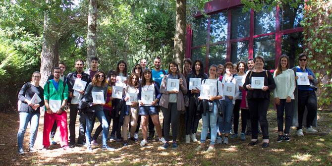 Jóvenes europeos visitan Arturo Álvarez