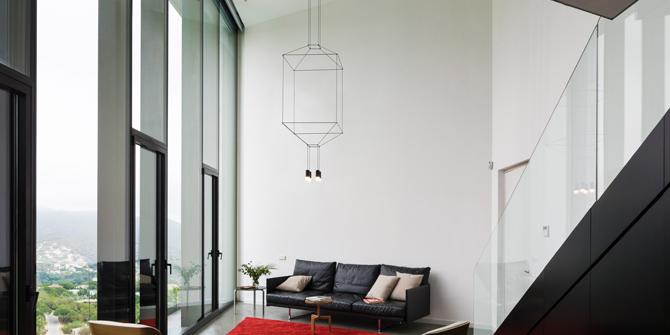 Arik Levy diseñador de lámpara Wireflow de Vibia