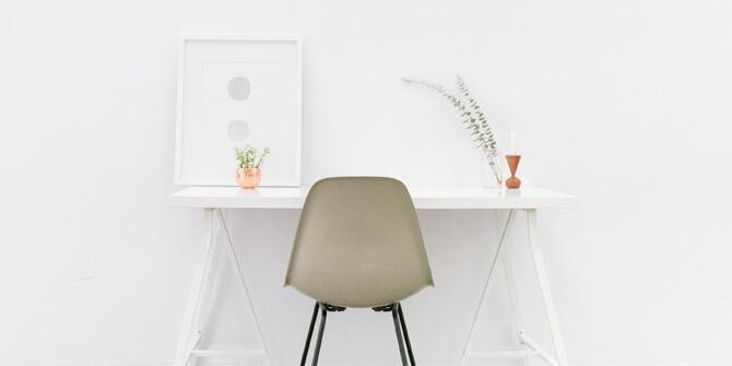 Minimalismo, tipo de decoración de formas simples y colores neutros