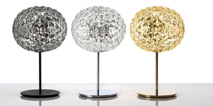 Lámparas de mesa Planet de Kartell