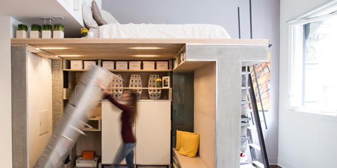 Viviendas pequeñas al estilo loft