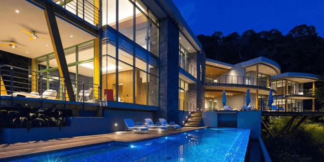 Casa Magayon iluminada por la empresa de iluminación Leds C4
