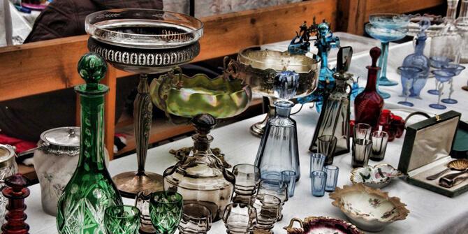 Comprar objetos estilo bohemio en mercadillos o anticuarios