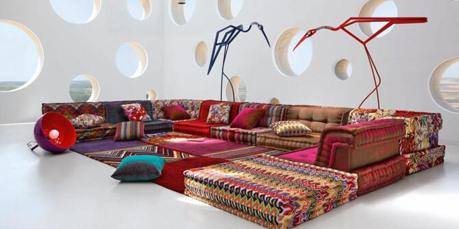 Mobiliario decoración al estilo bohemio