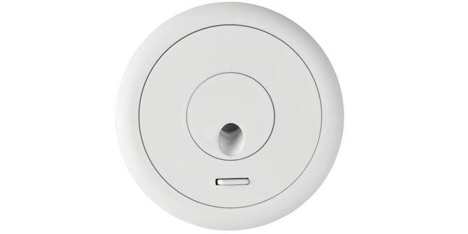 Lámpara de lectura Radar acabada en color blanco