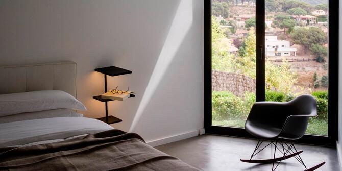 Suite, lámpara de mesa Vibia