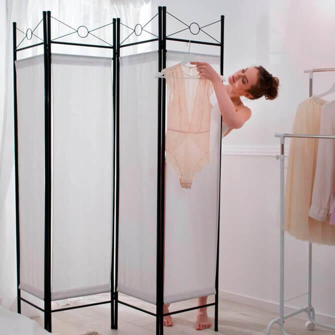 Biombo para dormitorio