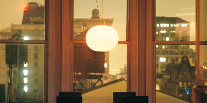 Lámpara colgante GLO-BALL S