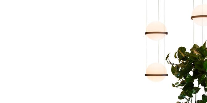 Lámpara colgante PALMA de Vibia