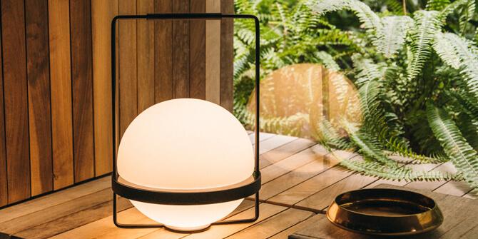 Lámpara de mesa PALMA