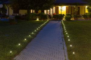 iluminación camino