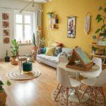 Ideas para iluminar espacios con decoración Vintage y retro.