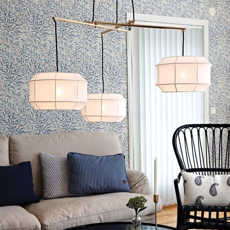 Lámpara estilo Japandi