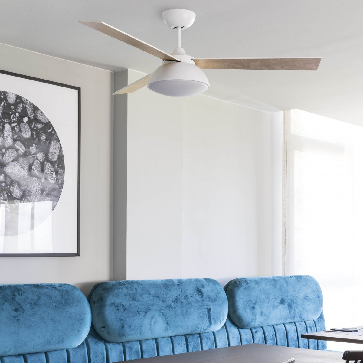 Discover the new ceiling fans of Faro Barcelona