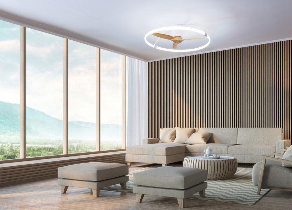 Ventilador inteligente NEPAL - Mantra Iluminación