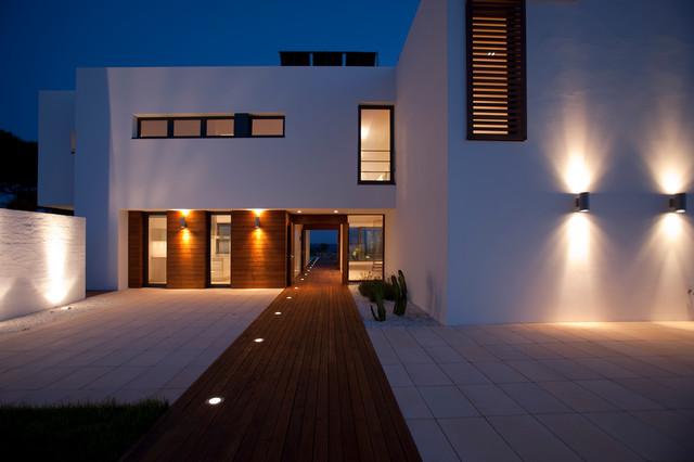 iluminación fachada