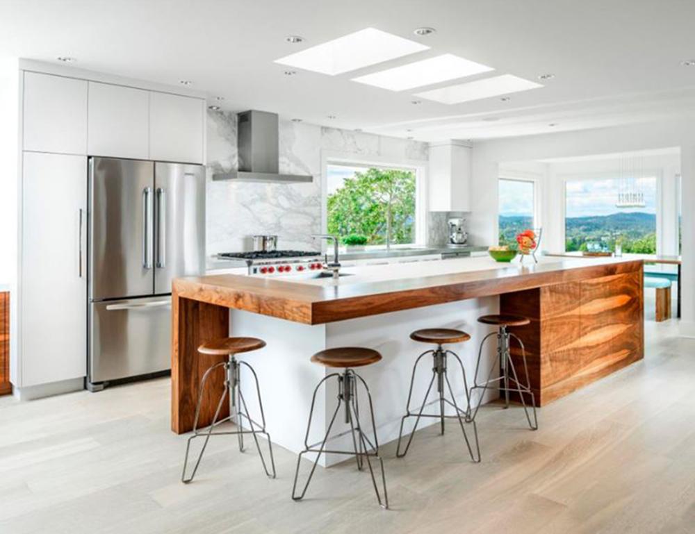 Paneles LED cocina