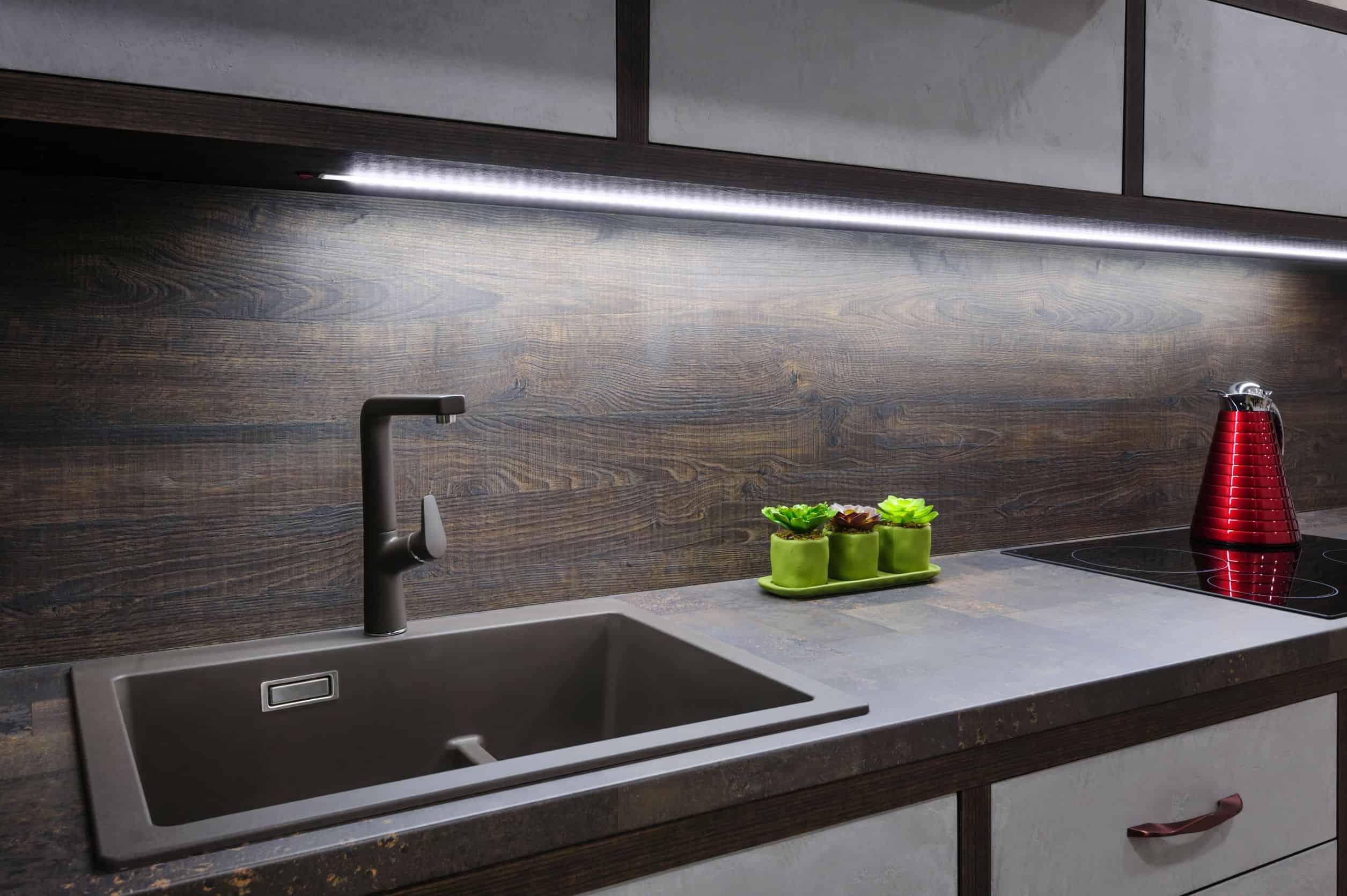Tira LED cocina