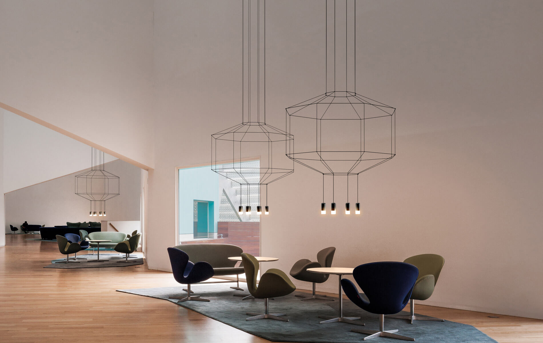 More information of Vibia WIREFLOW 0301 hanging lamp