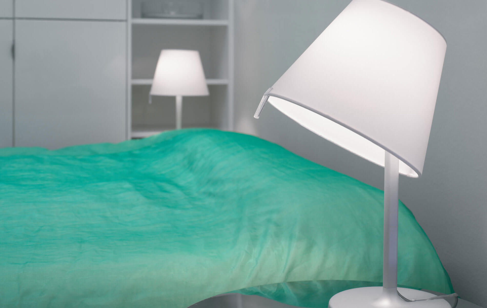 More information of Artemide MELAMPO table lamp