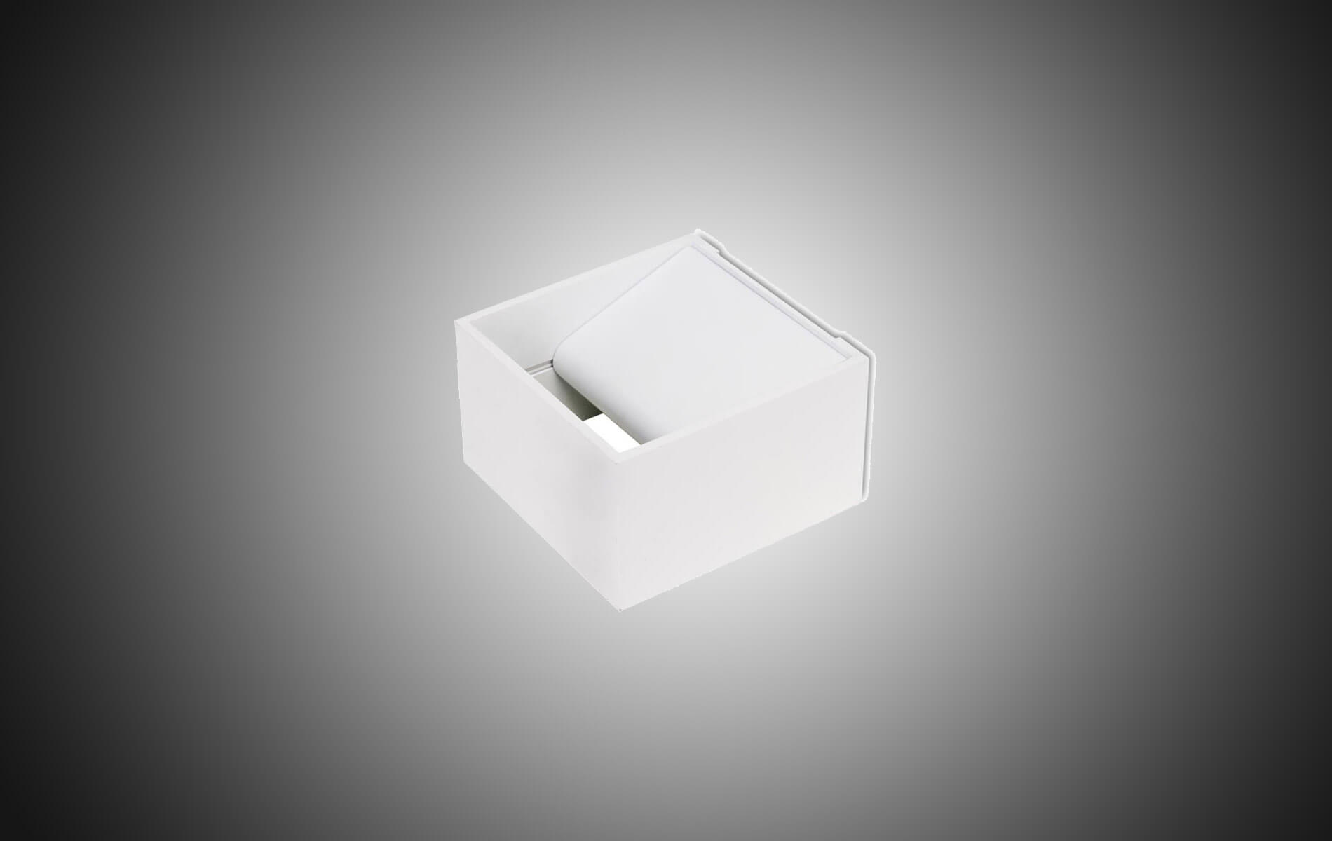 More information of Leds C4 JET square wall lamp