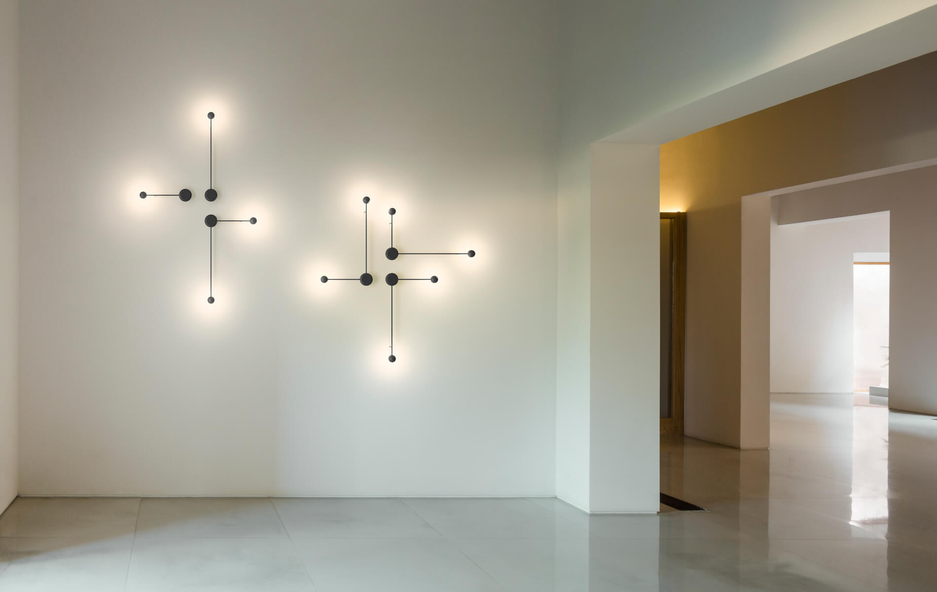 More information of Vibia PIN 1690-1692 wall lamp