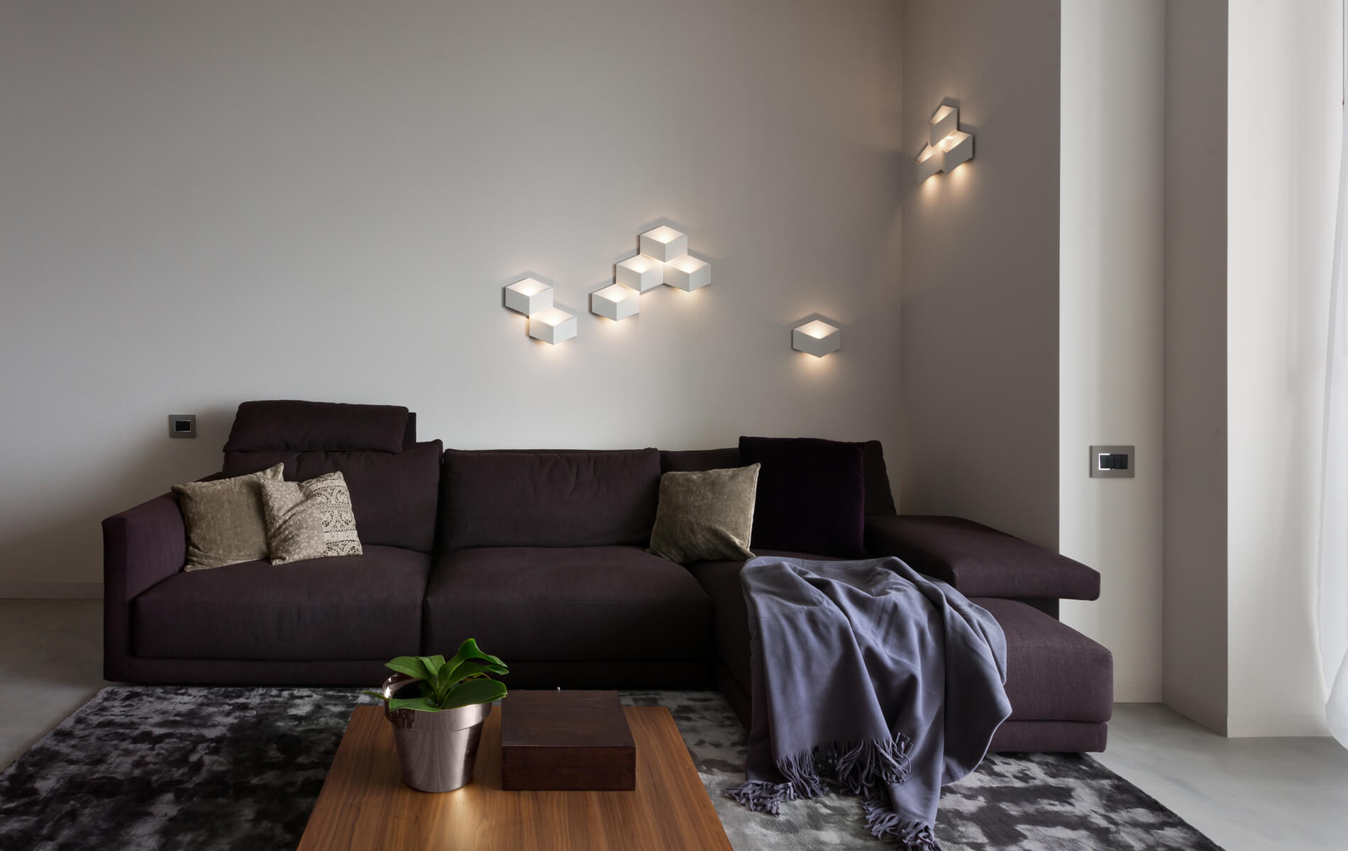 More information of Vibia FOLD Surface wall lamp