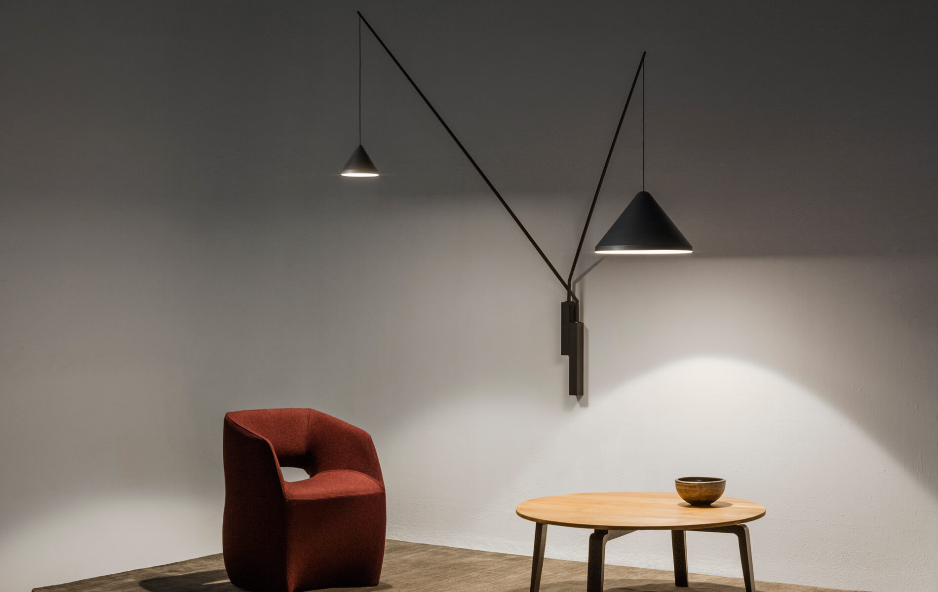 More information of Vibia NORTH wall lamp