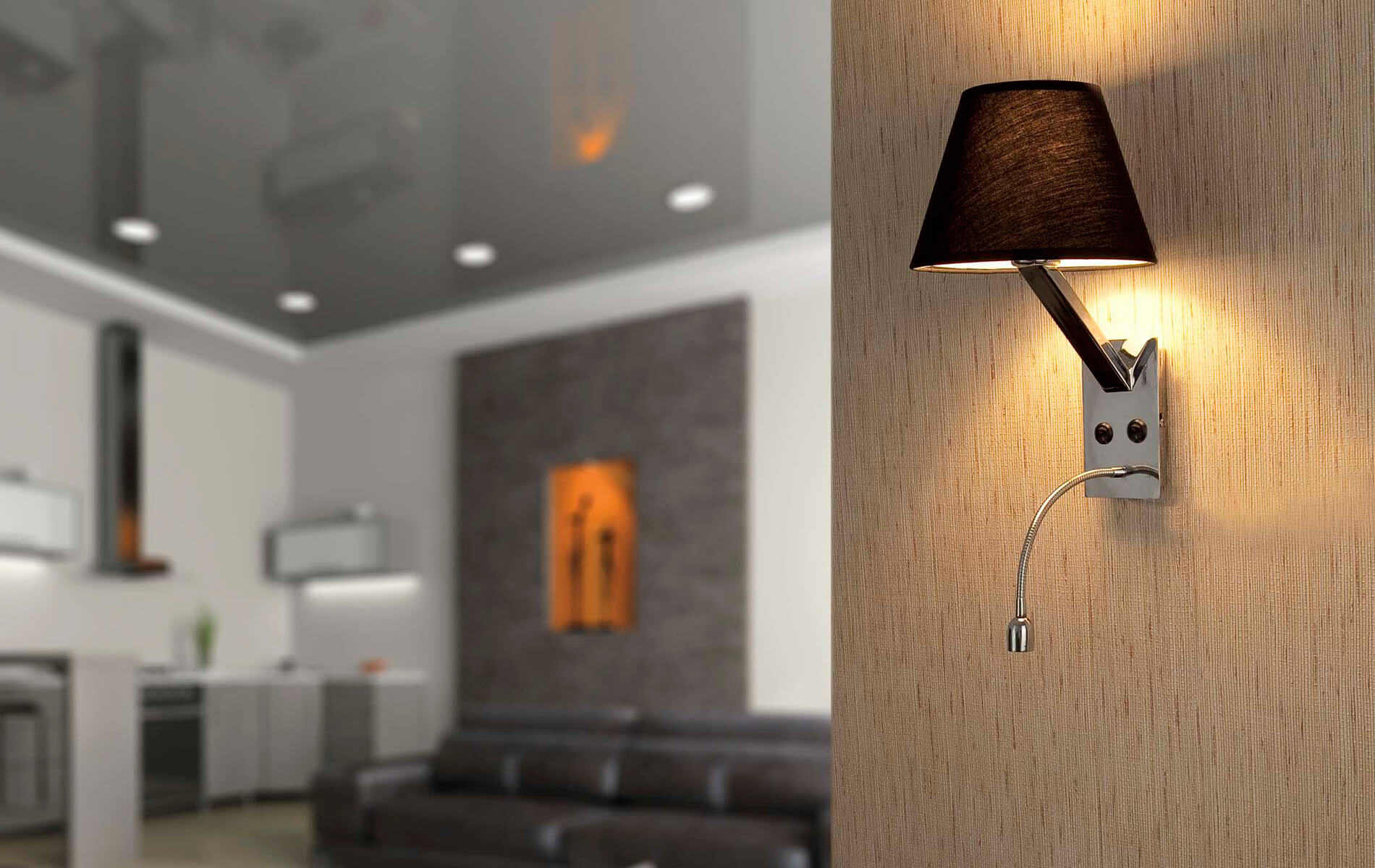 More information of Faro MOMA wall lamp